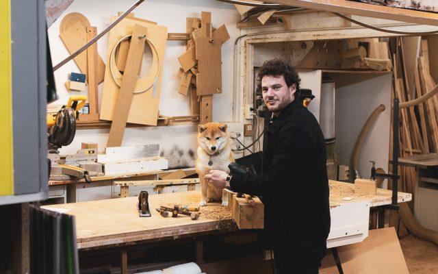 Thibaud et Nioki à L'atelier du Renard à Paris 14